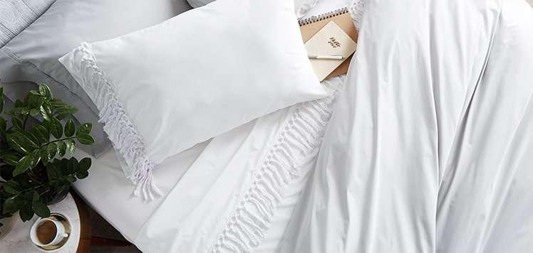The Fall Home: Designer Bedding
