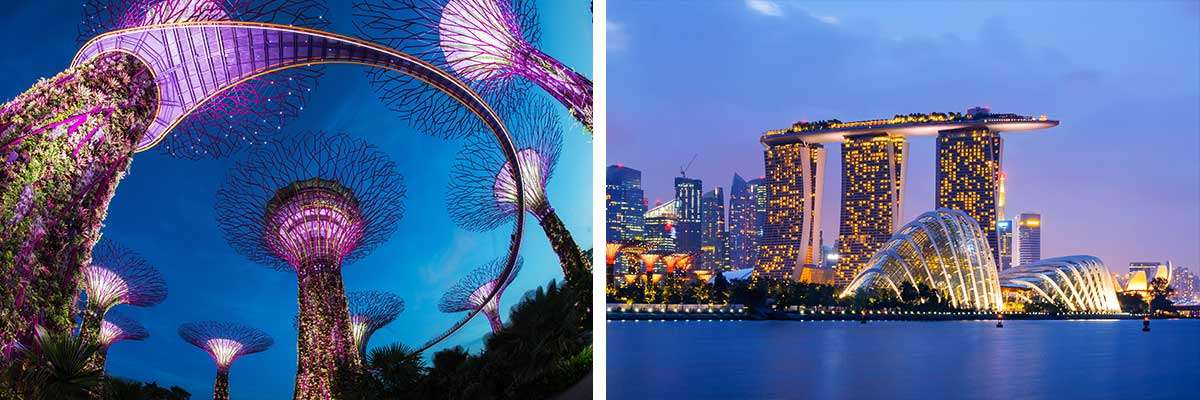 Book your stay at the Marina Bay Sands