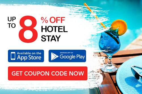 Up to 8% OFF Hotel coupon code