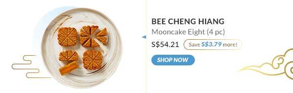 Shop Now: Bee Cheng Hiang Mooncake Eight (4pc)