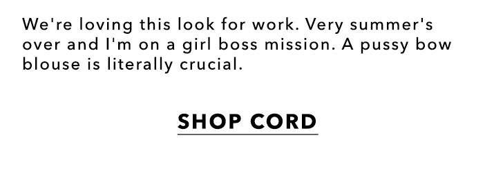 Shop Cord