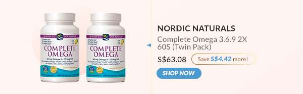 Shop Now: Nordic Naturals Complete Omega 3.6.9 2X 60S (Twin Pack)