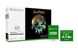 Buy Xbox One S Sea of Thieves bundle with Accidental Damage Warranty and Xbox Live Gold 3-Month. Save S$77