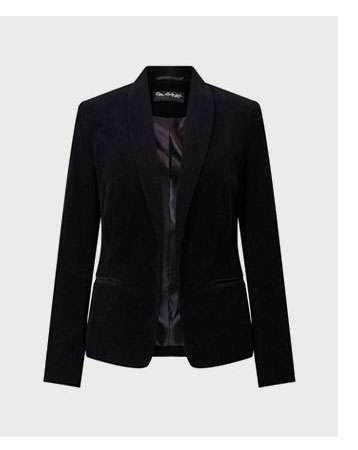 Black Cord Blazer