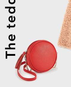 Red Circle Cross Body Bag