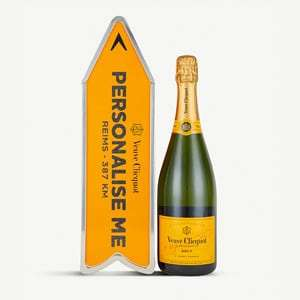 Veuve Clicquot brut personalisation tin