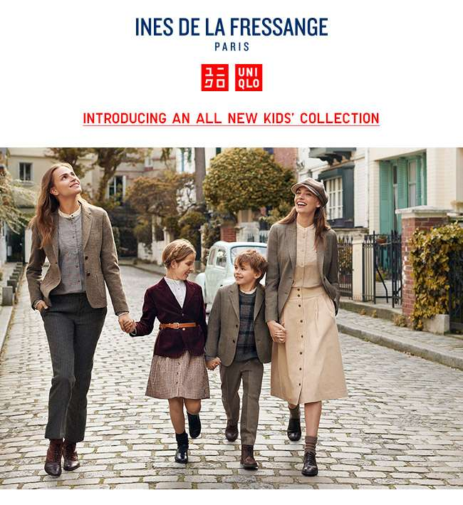 Ines De La Fressange 2018 Fall/Winter Collection is now available