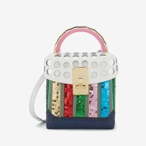 The Volon Women's Box KR Bag - Rainbow Spangle