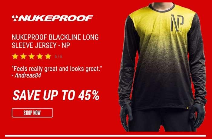 Nukeproof Blackline Long Sleeve Jersey - NP