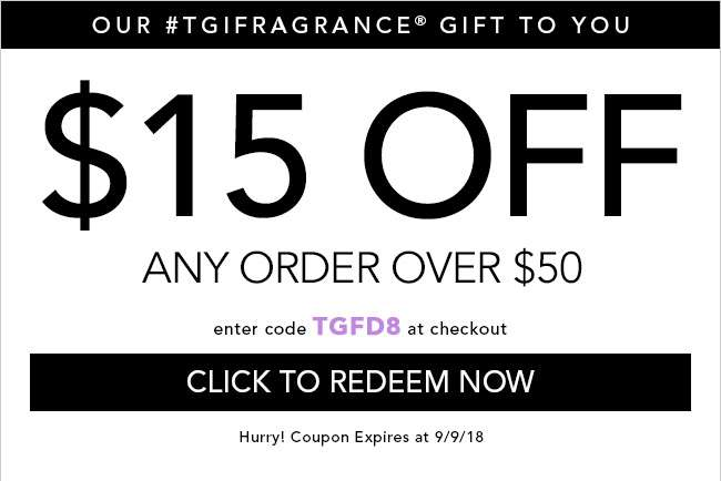 $15 Off any order over $50