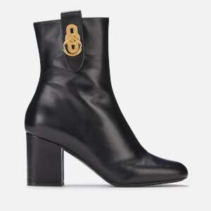 Mulberry Women's Leather Heeled Boots - Black