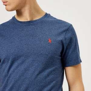 Polo Ralph Lauren Men's Basic Crew Neck T-Shirt - Rustic Navy Heather