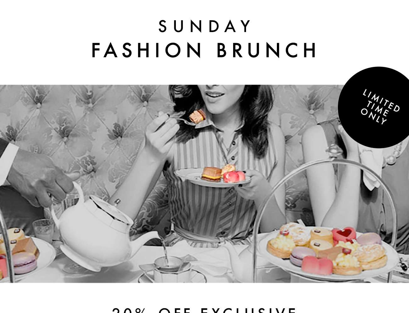 SUNDAY FASHION BRUNCH