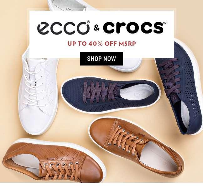 Shop Ecco & Crocs