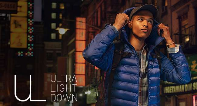 Men's Ultra Light Down