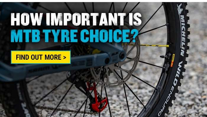 How important is MTB Tyre Choice?