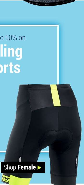 Save up to 50% on Cycling Shorts - Shop Female