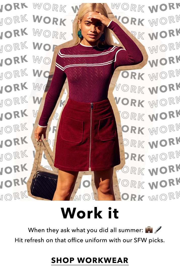 Work It - Shop Workwear