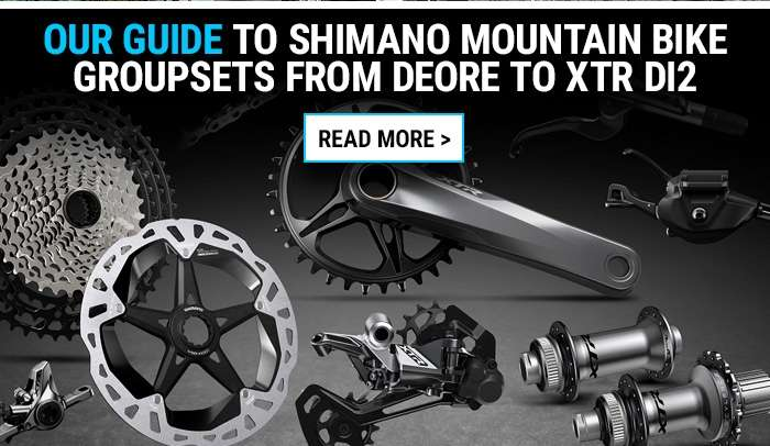 Our guide to Shimano mountain bike groupsets from Deore to XTR Di2
