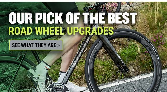 Our pick of the best road bike wheel upgrades