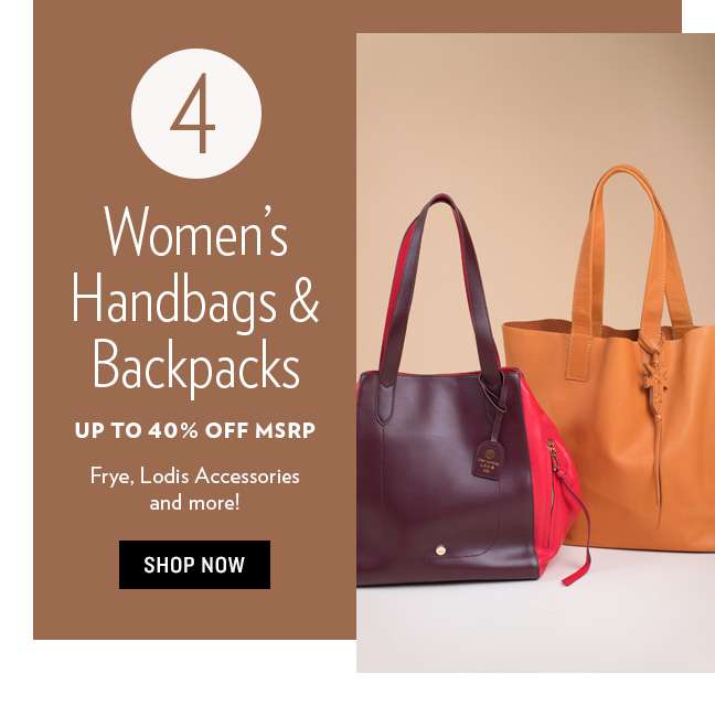 Women's Handbags & Backpacks