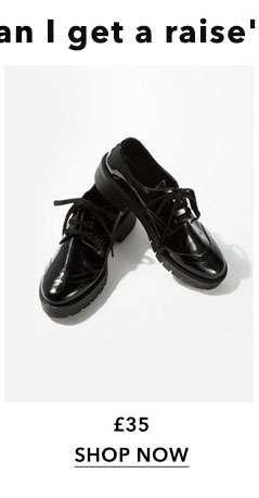 FARAH Chunky Brogue Shoes