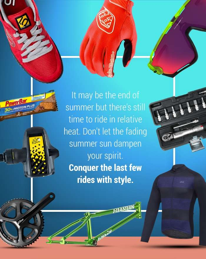 Conquer your next ride with style