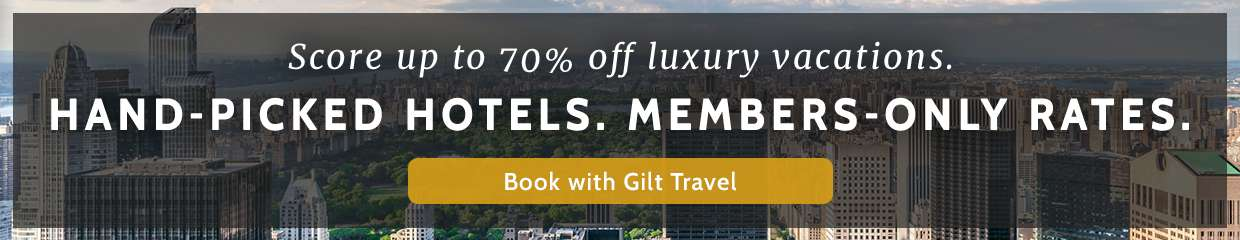 Score up to 70% off luxury vacations!