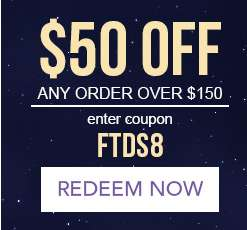 $50 Off any order over $150