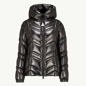 Fuligule hooded shell-down coat