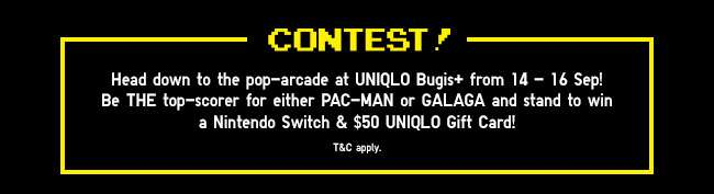 Contest! Win a Nintendo Switch & $50 UNIQLO Gift Card