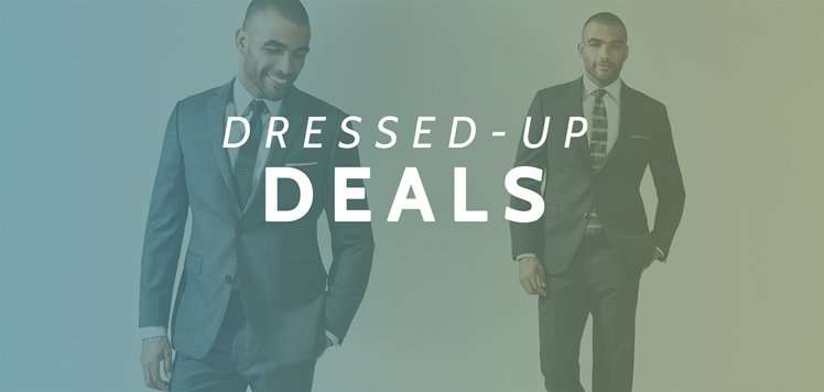 Up to 75% Off Men's Tailored