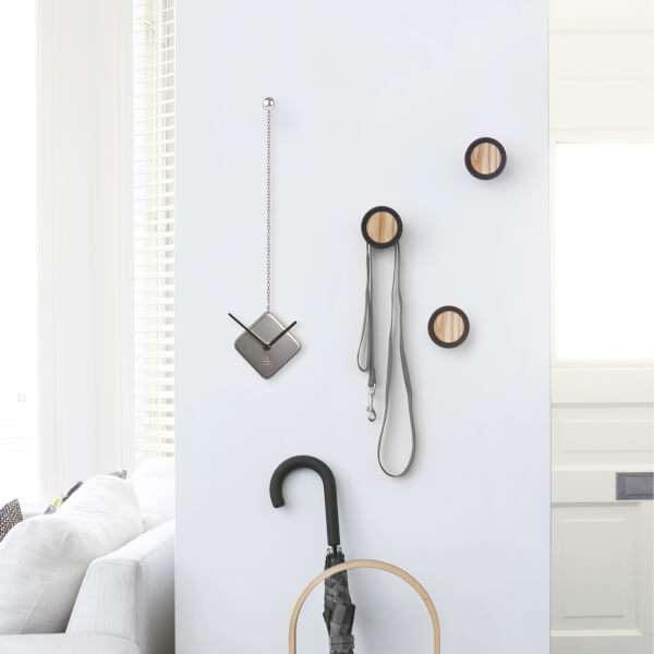 Umbra Silver Time Drop Wall Clock - Nickel: Image 31
