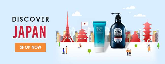 Click here to discover Japan's best beauty products!