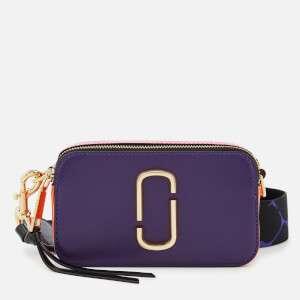 Marc Jacobs Women's Snapshot Cross Body Bag - Violet/Multi