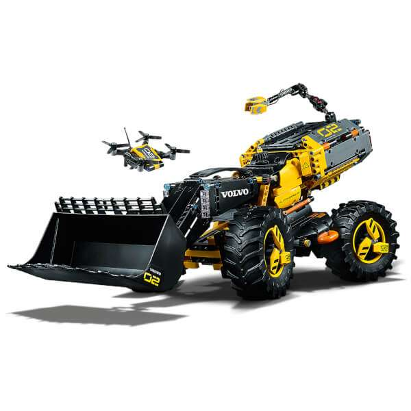 Lego Technic Volvo Concept Wheel Loader ZEUX (42081): Image 21