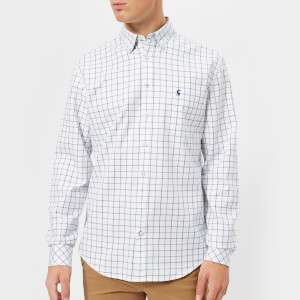 Joules Men's Wilby Classic Fit Shirt - Blue Check