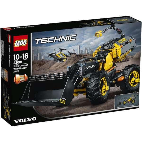 Lego Technic Volvo Concept Wheel Loader ZEUX (42081)