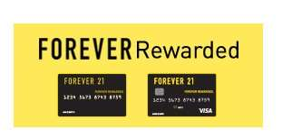Apply for our Forever 21 Credit Card
