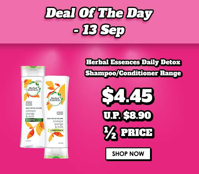 Click here for a special Hair Deal of the Day!