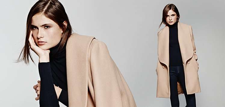 New-Season Wrap Coats