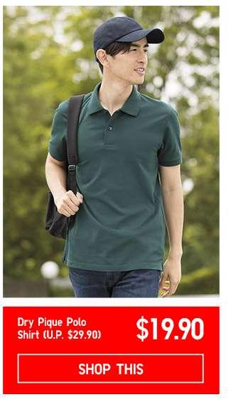 Dry Pique Polo Shirt