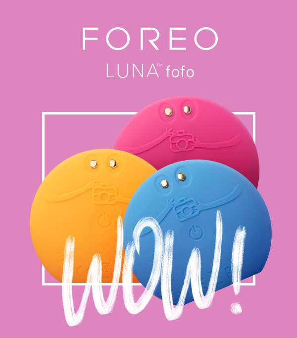 Foreo] Our Beauty App ➕ LUNA Fofo = Dewy Skin For Days