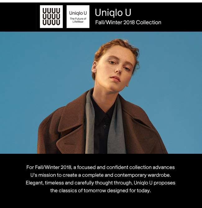Uniqlo U Fall/Winter Collection