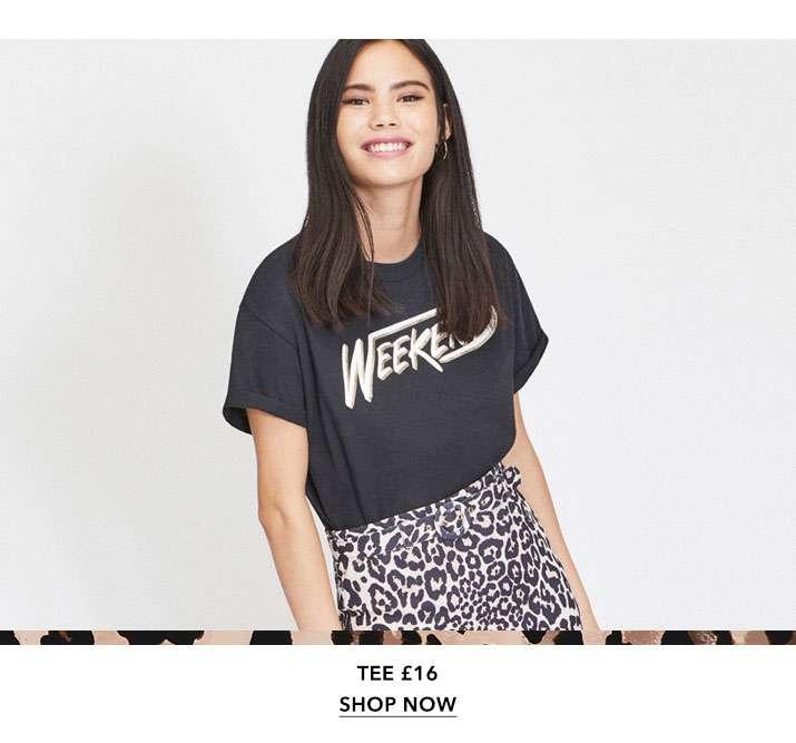 Weekend Glitter T-Shirt