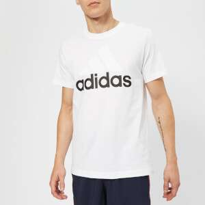 adidas Men's Essential Big Logo T-Shirt - White