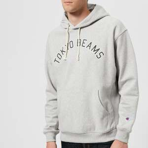 Champion X Beams Men's Hooded Sweatshirt - Grey