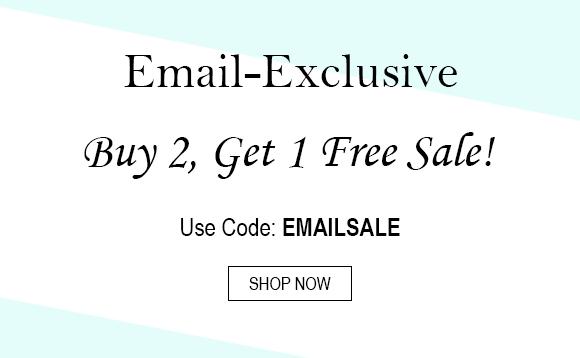 Buy 2, get 1 free sale