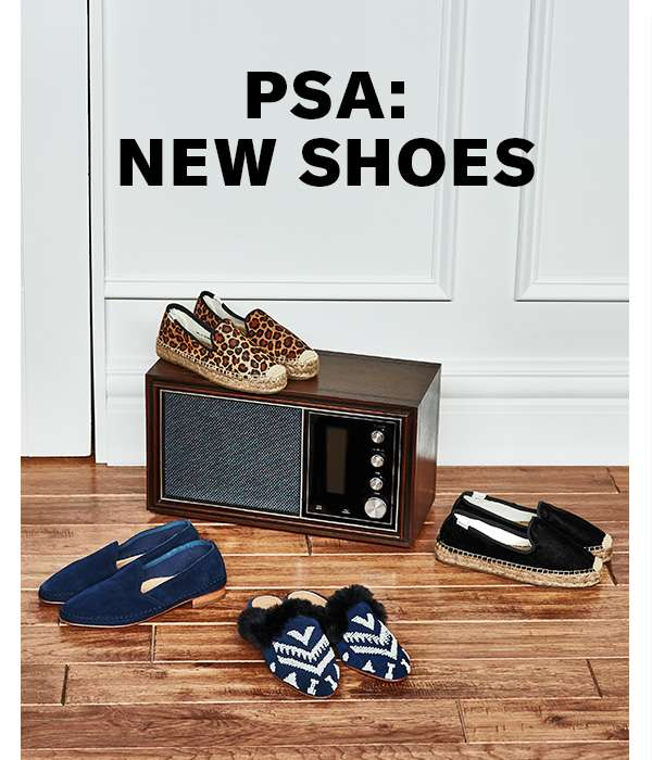 The latest shoes from Soludos, in fall-ready hues and silhouettes (roger that).