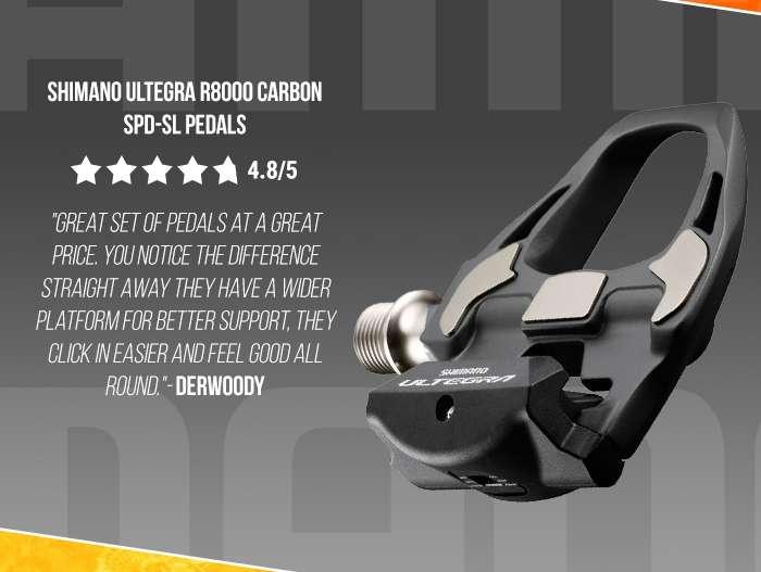 Shimano Ultegra R8000 Carbon SPD-SL Pedals